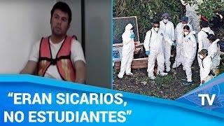 Jefe de sicarios habla sobre normalistas desaparecidos
