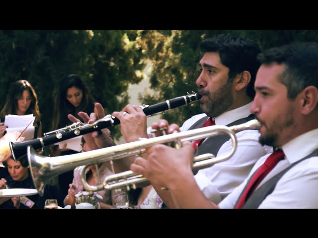 Potato Head Jazz Band, una boda diferente