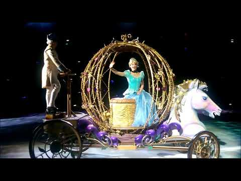 Disney On Ice Frozen 2017 [HD] Front Row