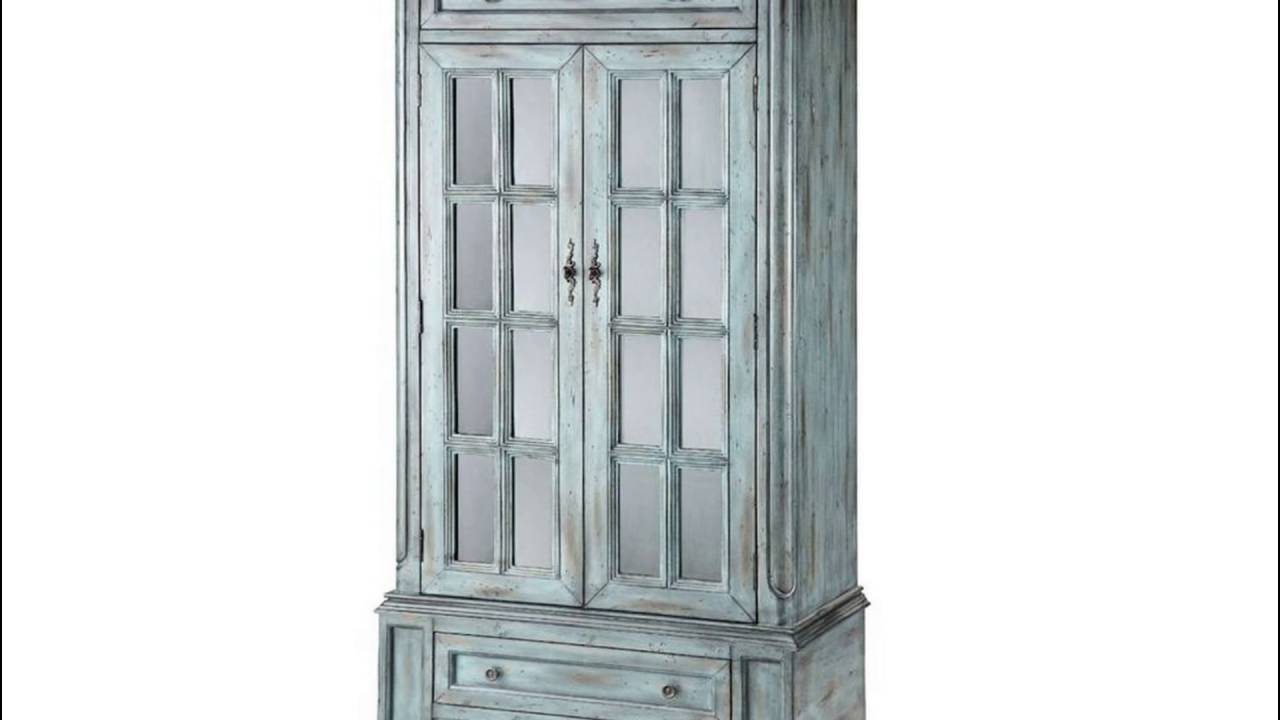 Tall Cabinet With Doors Youtube