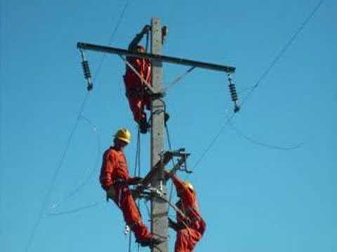 Resultado de imagen para Imagenes de tendido electrico en construcción