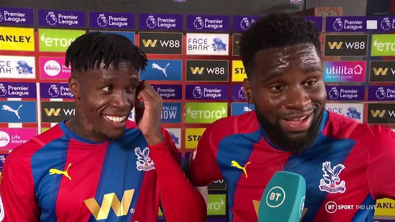 Crystal Palace vs Tottenham result: Wilfried Zaha and Odsonne ...