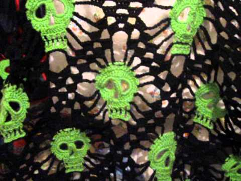 Skull Shawl Youtube