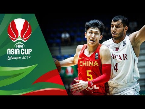 HIGHLIGHTS: China vs. Qatar (VIDEO) FIBA Asia Cup 2017 | August 11