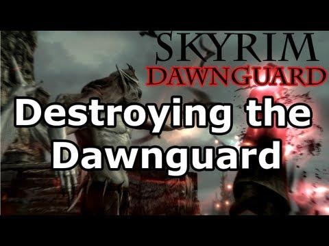 Skyrim: Destroying the Dawnguard Quest - Vampire Lord (Dawnguard DLC)  
