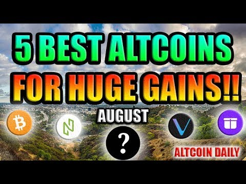 5 BEST Altcoins for HUGE GAINS!!! RIGHT NOW!!!! [Bitcoin/Top Cryptocurrency Strategy]