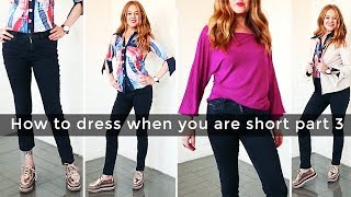 How to dress when you are short for women over 40 part 3 - casual - over 40 style