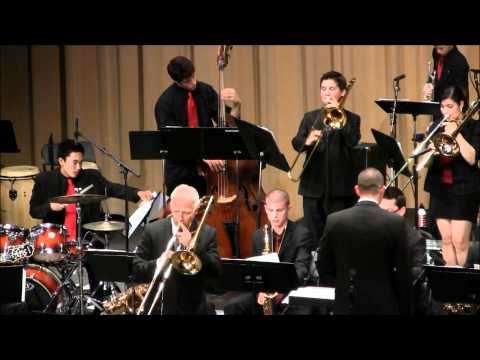 Esperanza High Jazz I with Andy Martin at the 2012 Big Band Blowout - It