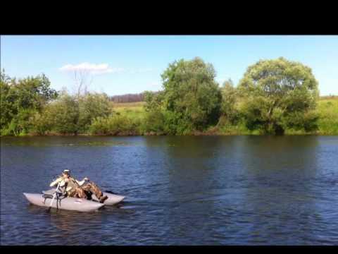 Тест лодки Ondatra