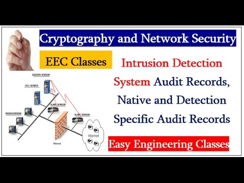 Intrusion Detection System Audit Records, Native and Detection Specific Audit Records(Hindi)