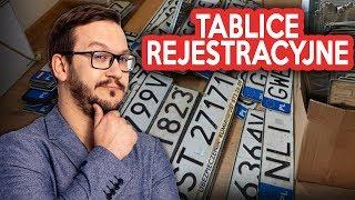 Wszystkie Polskie TABLICE Rejestracyjne