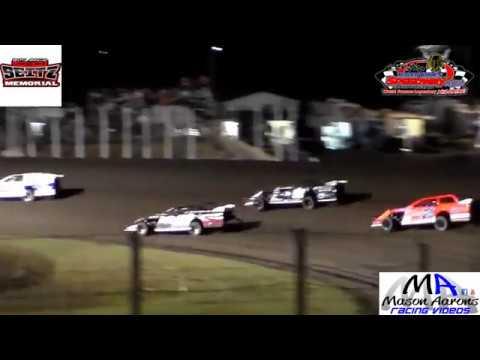 River Cities Speedway WISSOTA Modified Heats (John Seitz Memorial) (9/7/18)