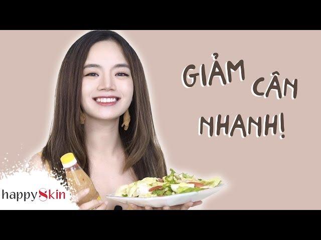 [Happy Skin Vietnam] Làm theo 5 cách này GIẢM CÂN dễ dàng mà vẫn khỏe đẹp!!   WEIGHT LOSS DIET   Happy Skin