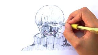 How to Draw Ken Kaneki from Tokyo Ghoul