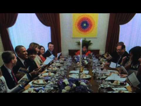 """Passover """"Seder Meal"""" At White House Hosted By Valerie Jarrett"""""""
