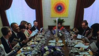 "Passover ""seder Meal"" At White House Hosted By Valerie Jarrett"""
