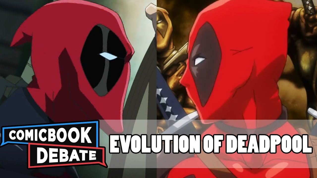 Good Evolution Of Deadpool In Cartoons In 3 Minutes (2017)