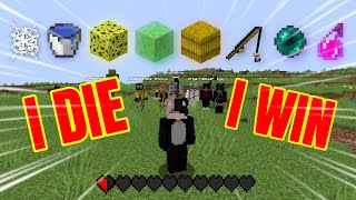 Minecraft Manhunt but if I DIE the Hunters LOSE...