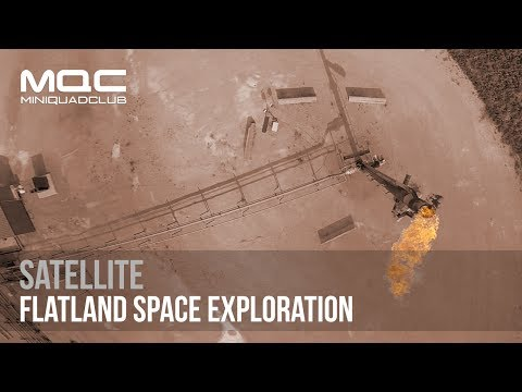Satellite // Flatland Space Exploration