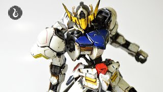 hg ibo 1 144 gundam barbatos custom weathering review 002