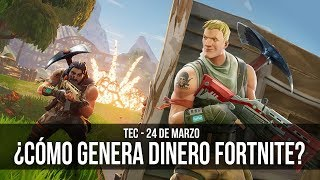 How does Fortnite generate money?
