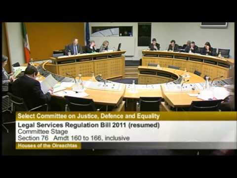Legal Services Regulation Bill 2011, Committee Stage (resumed), Part 3