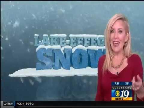 WOIO 19 Snow Plow Cam / Winter Weather 2017