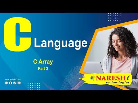 C Array - Part 3   C Language Tutorial