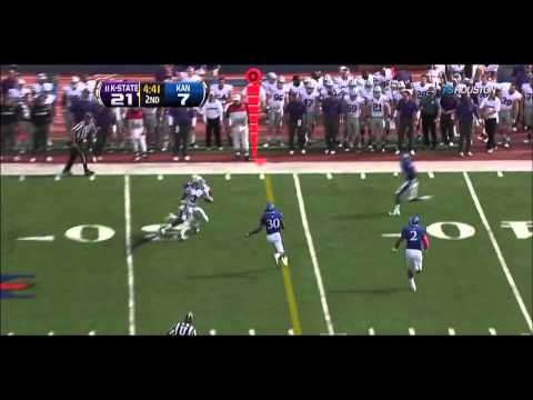K-State Vs Kansas (Rise of T. Lockett)