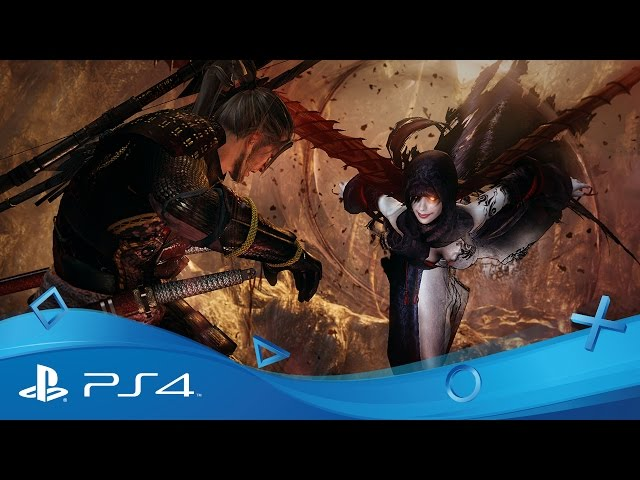 Nioh | PSX 2016 Gameplay Trailer | PS4