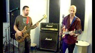 Jamming with Kade on Bass with Borstal Boy .wmv