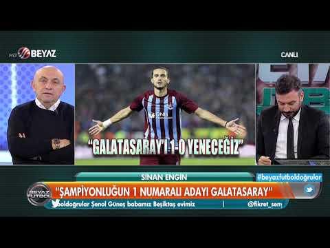 Galatasaray-Trabzonspor maçını kim kazanır? İşte Sinan Engin'in favorisi