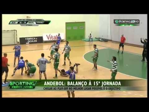Andebol :: 14J :: Sporting - 30 x Passos Manuel - 29 de 2014/2015