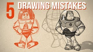 Top 5 Drawing Mistakes