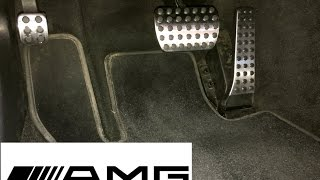 How to Change Brake & Gas Pedal  Mercedes-Benz (AMG Look)