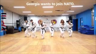 Georgia TKD Girls Dancing to Korean Pop
