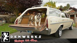 Cruisin w/ Stanley in some lovely Station Wagons Chevelle 510 Sportwagon Nova DENWERKS