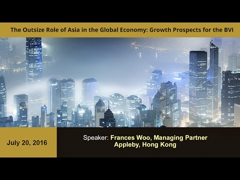 The Outsize Role of Asia in the Global Economy - Growth Prospects for the BVI