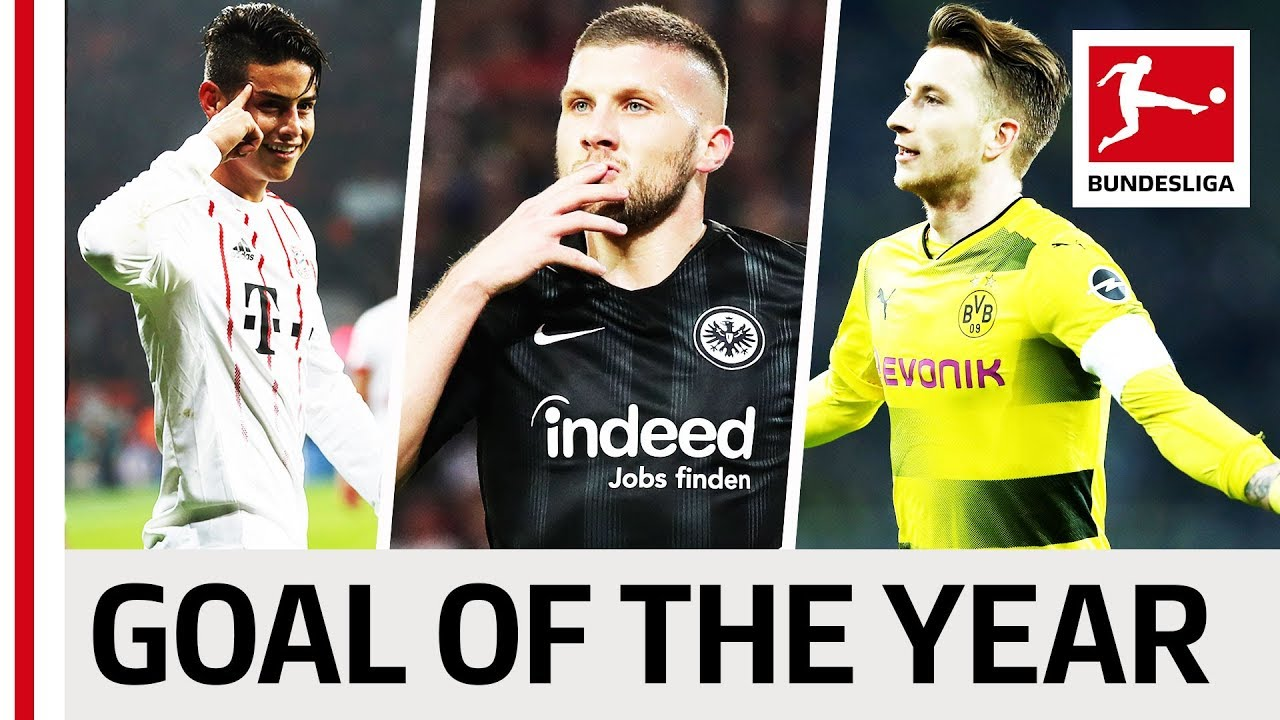 Top 10 Goals 2018 - Vote for the Goal of the Year
