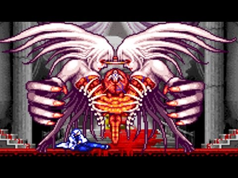 Castlevania Aria Of Sorrow All Bosses No Damage Youtube
