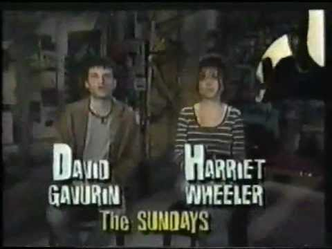 The Sundays HARRIET AND DAVID Hostin an Mtv show