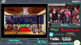 Awesome Games Done Quick 2015 - Part 96 - Mischief Makers by Jackafur