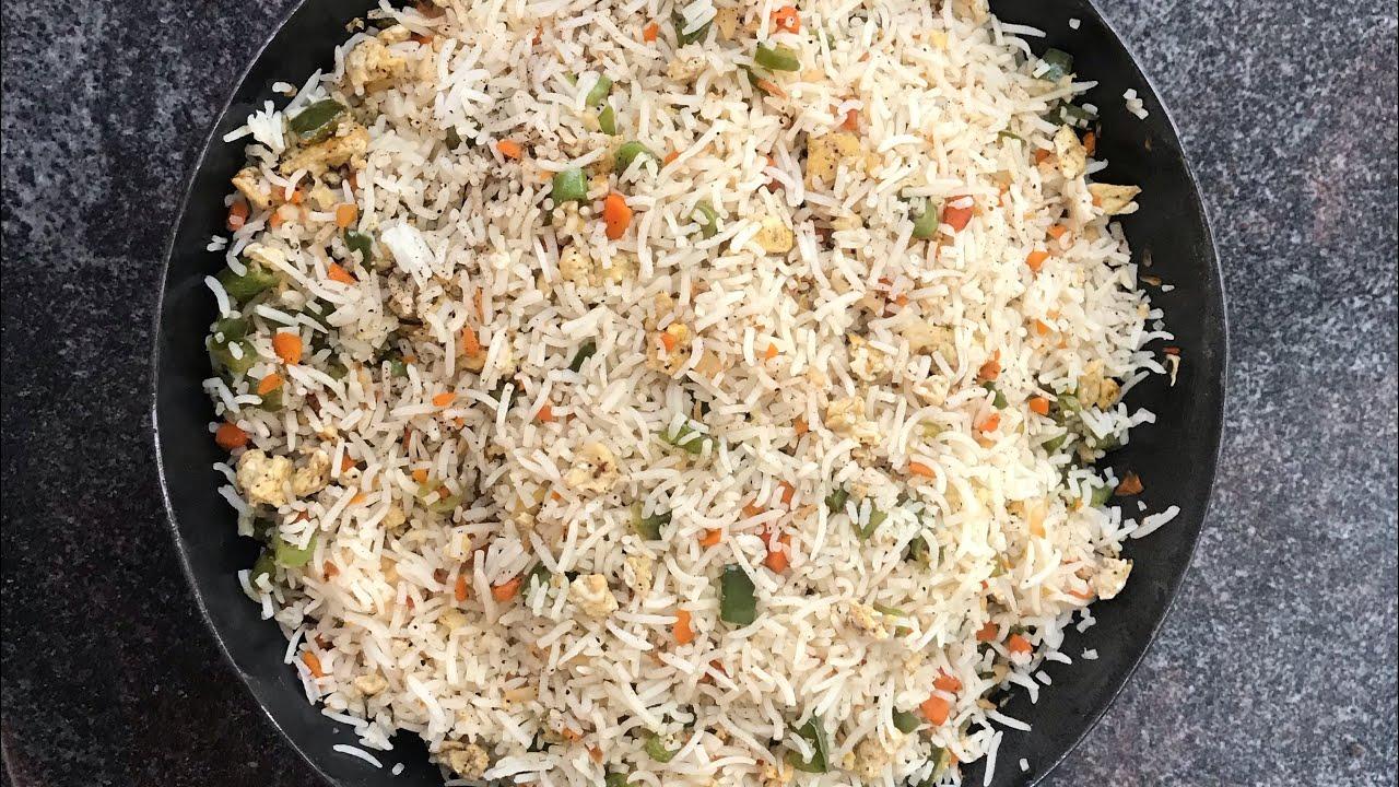 Egg Fried Rice/Egg fried rice recipe in tamil/Restaurant style egg fried rice recipe in tamil