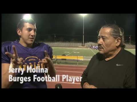 Deaf Football Players at Burges High School