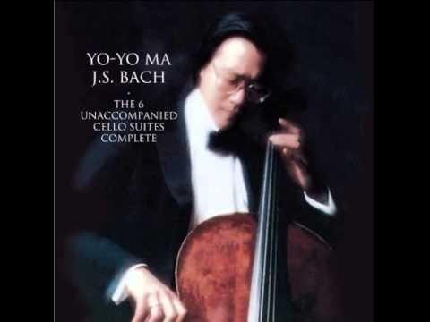 Yo-Yo Ma -- (J. S. Bach) Unaccompanied Cello Suite No. 1 in G Major, BWV 1007: Menuett