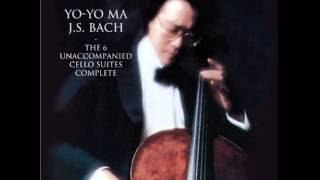 Yo-Yo Ma -- (J. S. Bach) Unaccompanied Cello Suite No. 1 in G Major, BWV 1007: Menuett
