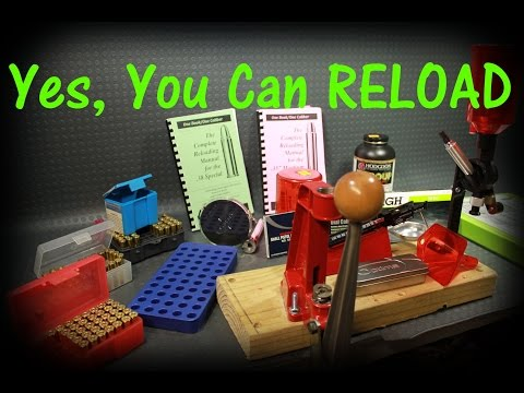 YES, You can Reload, LOTS of info for beginners