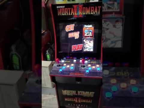 arcade1up MK upgrade from J M Arcades