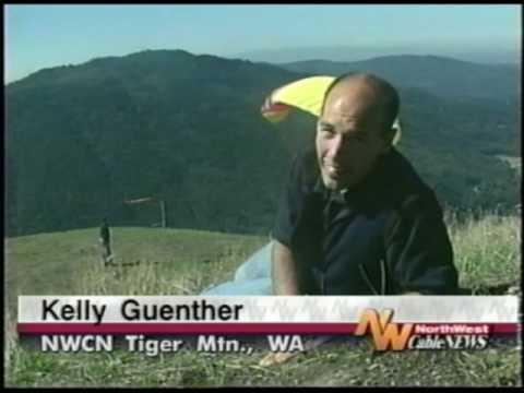 1994 Disabled Man Certified to Paraglide at Tiger Mountain, Issaquah