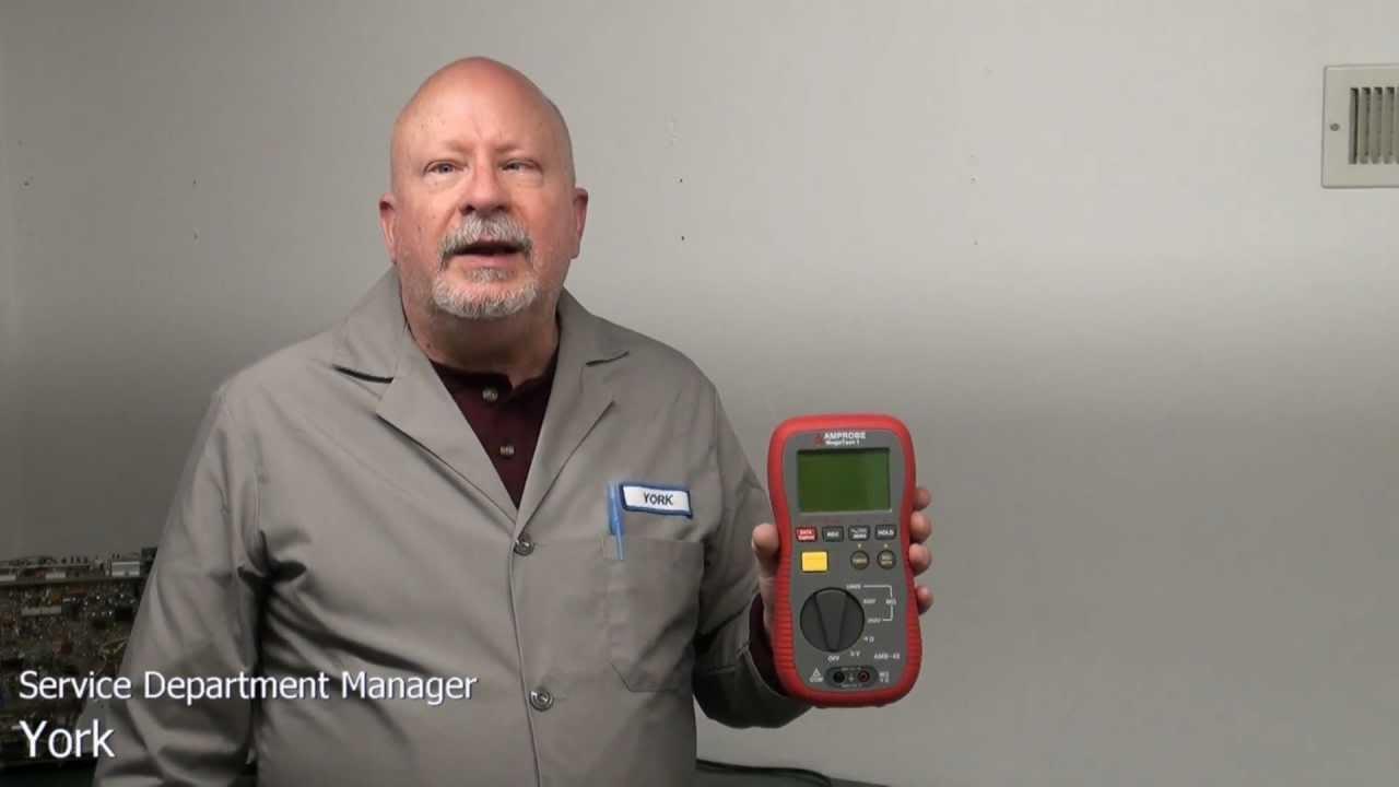 Amprobe Amb 45 Digital Megohmmeter Insulation Resistance Tester Aeb 1 8t Wiring Diagram Youtube